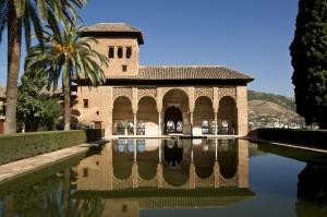 El partal de la alhambra